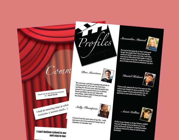 yearbook theme ideas at the movies style spc yearbooks