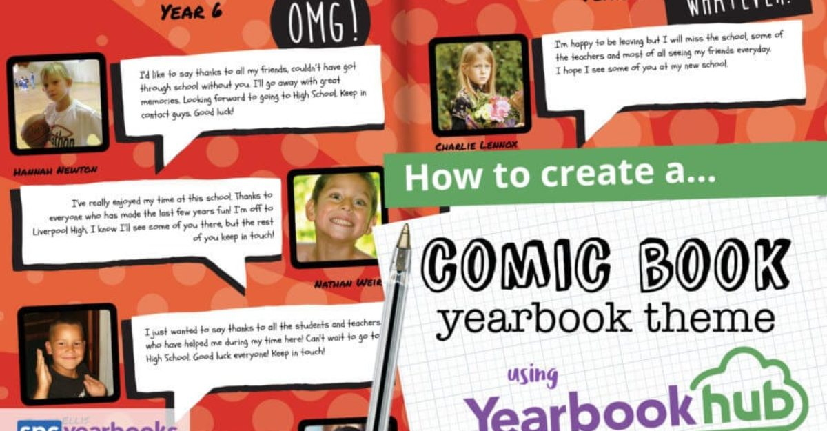 Create a Comic Book Yearbook with the POW Factor